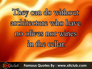 You Are Currently Browsing 15 Most Famous Architecture Quotes