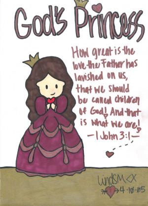 God's princess by jar4christ