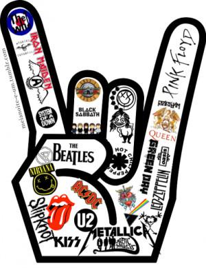 Top 5 bandas de rock mais conhecidas no Facebook