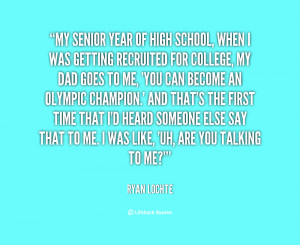 High School Senior Year Quotes