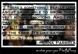 Lana Parrilla Scar