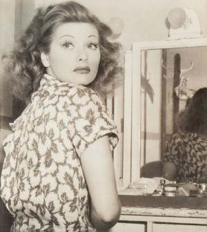 lucille ball quotes about redheads