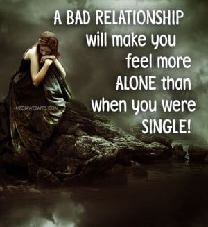 Feeling Alone In A Relationship Quotes Feeling Lonely Quotes ...