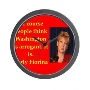 2016 Gifts > 2016 Living Room > carly fiorina quote Wall Clock