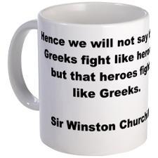 Funny Spartan quotes Mug