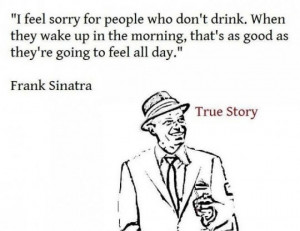 funny Frank Sinatra quote