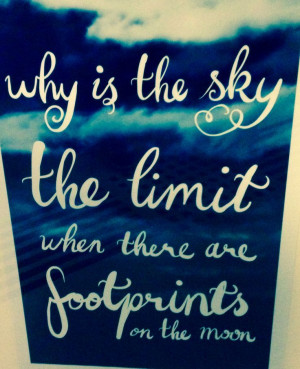 why is the sky the limit?