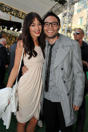Mallory Jansen And Director Of Trumpet Events Simon Phan