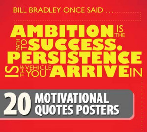 20 Motivational Quotes Posters
