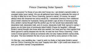 Download Prince Charming sister speech