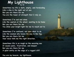 Lighthouse Poems Quotes. QuotesGram