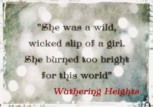 Wuthering Heights Apparel for Book Lovers at Miss Bohemia