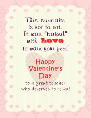 Cute Valentine Poems For Teachers