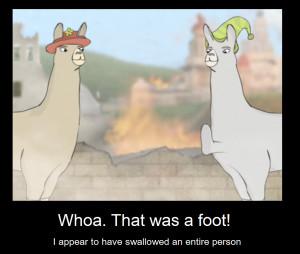 llamas with hats 3 quotes