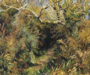 Titre de l'image : Pierre-Auguste Renoir - paysage de France du sud