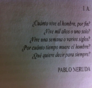 ... for this image include: pablo neruda, vida, frase, frases and profundo