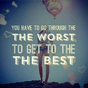 quote #worst #best its gonna be ok.