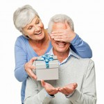 It is a big surprise to the retiree if you present him with a crystal ...