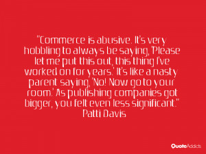 Patti Davis Quotes