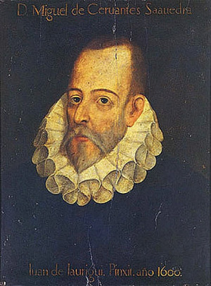 """MIGUEL DE CERVANTES. """"Make it thy business to know thyself, which is ..."""