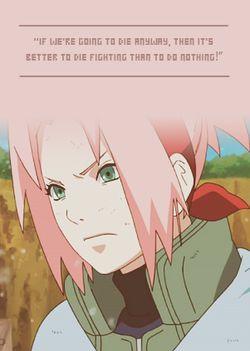 Sakura quote
