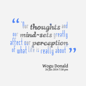 Quotes About: perception
