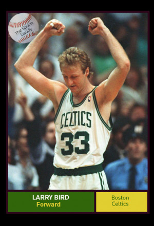 Larry Bird is the NBA's greatest player of all-time in the eyes of The ...