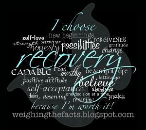 ... positive attitude, self-acceptance, abundance, choices, deserving, one