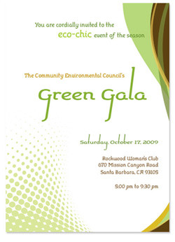 Fundraising Gala Invitation