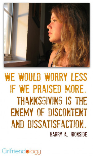 ... : Girlfriend Advice on the Anti-Multi-Tasking Gift of Gratitude