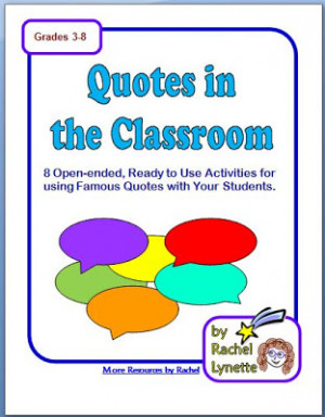 Download your Free Quotes in the Classroom