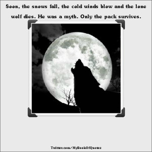 Lone Wolf That