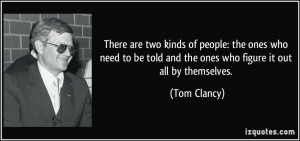 More Tom Clancy Quotes