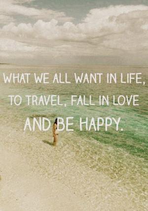 beach, happy, life, quote, tumblr
