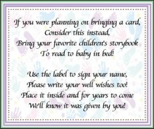 Baby Shower Book Quotes, Baby Shower Quotes for Mom, Baby Book Ideas ...