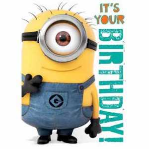 ... Cards & Wrap / Sound Cards / Despicable Me Minion Birthday Sound card