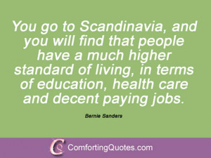 Quotations By Bernie Sanders