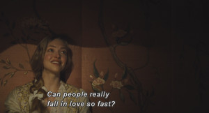 Can people really fall in love so fast?