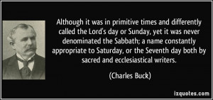Lords Day Quotes