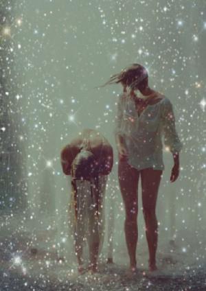 play in the rain..