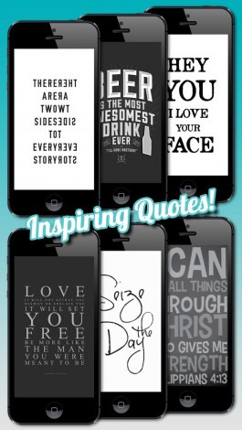 Famous Quotes Wallpapers - Funny, Inspirational, Sports, Religious ...