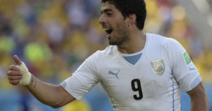 The Uruguayan does a fine job of playing the incident down here. Will ...