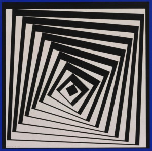 Victor Vasarely, Pavo II, 1979. Painting. Museum of Fine Arts Budapest