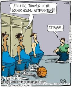 Athletic Trainer Cartoons and Comics More