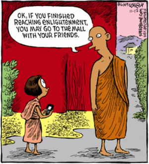 HUMOR - AFTER YOU REACH ENLIGHTENMENT
