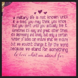 Army Wife Quotes on Pinterest