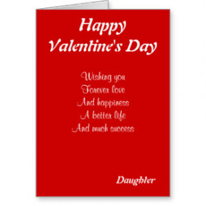 Valentine For Daughter Cards & More