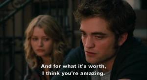 couple, cute, movie, quote, remember me, robert pattinson, sad ...