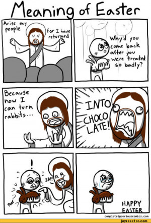 ... jesus :: funny pictures :: easter :: chocolate :: comics (funny comics