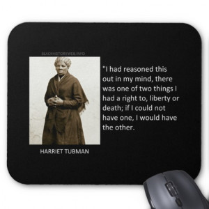 File Name : harriet_tubman_quote_mouse_pad ...